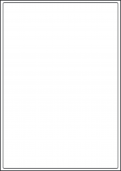 Cream Labels, 1 Per Sheet, 199.6 x 289.1mm
