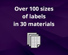 100 Sizes 30 Materials